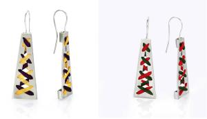 Harmony of Contrast Earrings