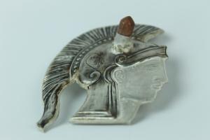 Athena brooch by Sezen Tulgarer